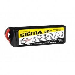 RC-G30-2200-3S1P RC Plus - Li-Po Batterypack - Sigma 30C - 2200 mAh - 3S1P - 11.1V - XT-60