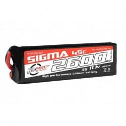 RC-G45-2600-3S1P RC Plus - Li-Po Batterypack - Sigma 45C - 2600 mAh - 3S1P - 11.1V - XT-60