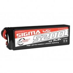 RC-G45-5200-4S1P RC Plus - Li-Po Batterypack - Sigma 45C - 5200 mAh - 4S1P - 14.8V - XT-60