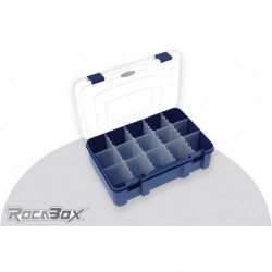 RD-2719-07-15 Rocabox - Boîte d'assortiment - RD-2719-07-15 - Blue / Transparant - 15 Compartiments