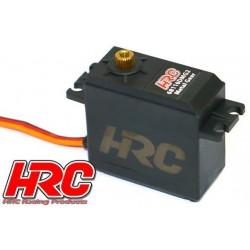 HRC68116DMG2 Servo - Digital - 40x38.3x20mm / 52g - 16kg/cm - Pignons métal - Etanche - Double roulement à billes