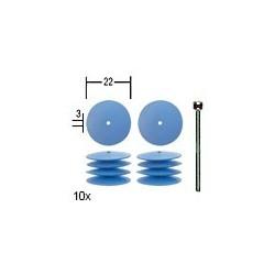 PRO28293 PROXXON Polissoirs élastiques sili.