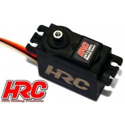 HRC68123MG Servo - Analog - 40.5x38x20.2mm / 55.6g - 23kg/cm - Pignons métal - Etanche - Double roulement à billes