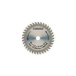 PRO28732 PROXXON Lame circul.80mm 36 dents