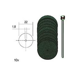 PRO28810 PROXXON 10 d. tronçonner 22 mm+sup.