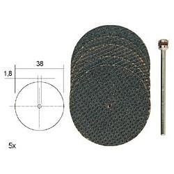 PRO28818 PROXXON 5 d. tronçonner 38 x 1 mm