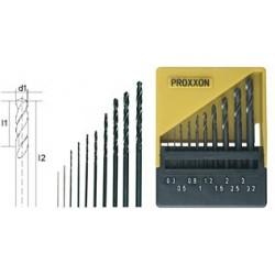 PRO28874 PROXXON Set forets 0.5 à 3 mm 10p.