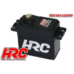 HRC68132DHV Servo - Digital - High Voltage - 40.2x41x20mm / 53g - 32kg/cm - Pignons métal - Etanche - Double roulement à billes