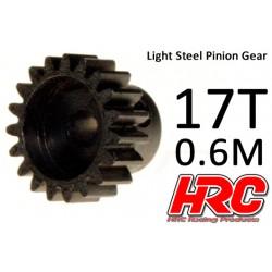 HRC70617 Pignon - 0.6M - Acier – Léger – 17D