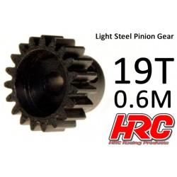 HRC70619 Pignon - 0.6M - Acier – Léger – 19D