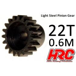 HRC70622 Pignon - 0.6M - Acier – Léger – 22D