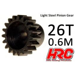 HRC70626 Pignon - 0.6M - Acier – Léger – 26D