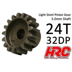 HRC73224 Pignon - 32DP / axe 5mm - Acier – Léger – 24D