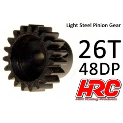 HRC74826 Pignon - 48DP - Acier – Léger – 26D
