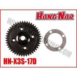 HN-X3S-17D Couronne centrale 46 dents de X3-E