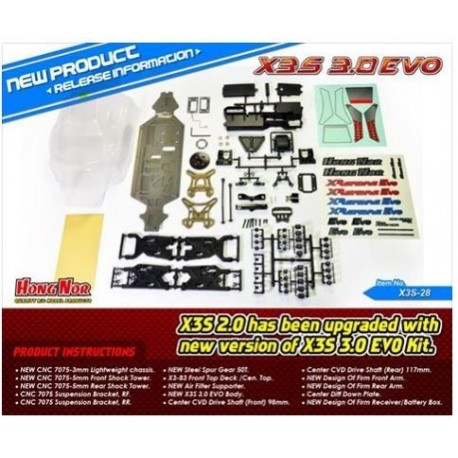 HN-X3S-28 Kit de conversion EVO 3 Sabre 3