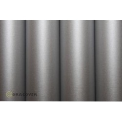 OR-10-091-002 Oracover - Oratex Silver ( Length : Roll 2m , Width : 60cm )