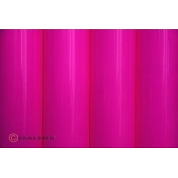 OR-21-014-002 Oracover - Fluorescent Neon-Pink ( Length : Roll 2m , Width : 60cm )