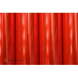 OR-21-026-002 Oracover - Transparent Flurescent Red ( Length : Roll 2m , Width : 60cm )