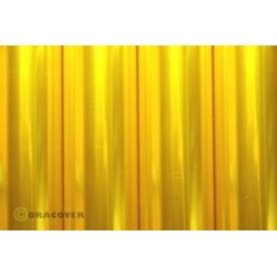 OR-21-039-002 Oracover - Transparent Flurescent Yellow ( Length : Roll 2m , Width : 60cm )