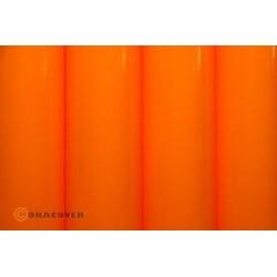 OR-21-065-002 Oracover - Fluorescent Signal Orange ( Length : Roll 2m , Width : 60cm )