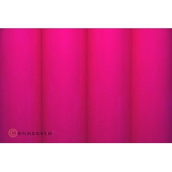 OR-25-025-002 Oracover - Orastick - Fluorescent Pink ( Length : Roll 2m , Width : 60cm )