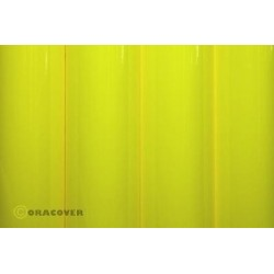 OR-25-031-002 Oracover - Orastick - Fluorescent Yellow ( Length : Roll 2m , Width : 60cm )