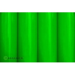 OR-25-041-002 Oracover - Orastick - Fluorescent Green ( Length : Roll 2m , Width : 60cm )
