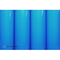 OR-25-051-002 Oracover - Orastick - Blue Fluorescent ( Length : Roll 2m , Width : 60cm )
