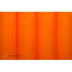 OR-25-065-002 Oracover - Orastick - Fluorescent Signal Orange ( Length : Roll 2m , Width : 60cm )