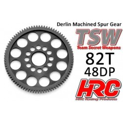 HRC74882LW Couronne - 48DP - Delrin Low Friction usiné - Ultra Light - TSW Pro Racing - 82D
