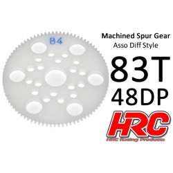HRC74883A Couronne - 48DP - Delrin Low Friction usiné - Diff Style - 83D