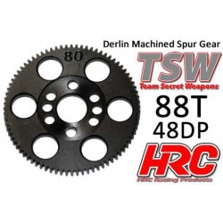 HRC74888T Couronne - 48DP - Delrin Low Friction usiné - TSW Pro Racing - 88D