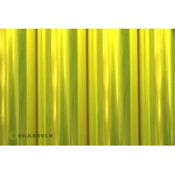 OR-321-035-002 Oracover - Air Outdoor - Transparent Flurescent Yellow ( Length : Roll 2m , Width : 60cm )