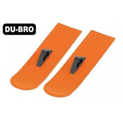 DUB825-OR Pièce d'avion - Snowbird Skis Principaux - Orange (2 pces)
