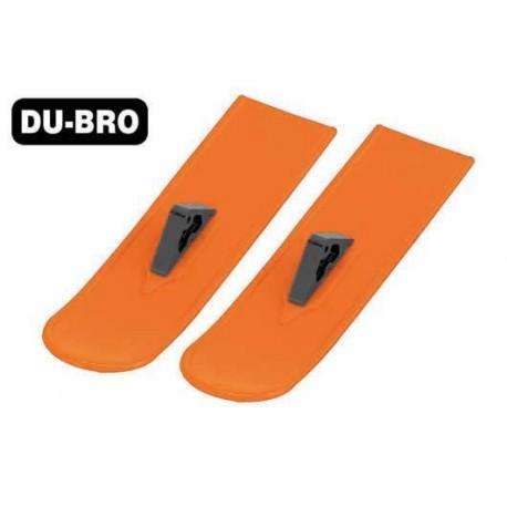 DUB825-OR Pièce d'avion - Snowbird Skis Principaux - Orange (2 pces)