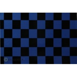 OR-47-057-071-002 Oracover - Orastick - Fun 3 (25mm Square) Pearl Blue + Black ( Length : Roll 2m , Width : 60cm )