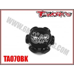 TA070BK Support de bougies Turbo noir