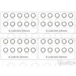 TA095-6 Set de rondelles M6 (10x4 tailles)