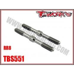 TBS551 Pas inverse de carrossage en Titane pour RR8 (2)