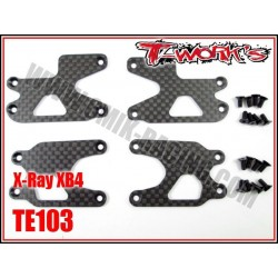 TE103 Renforts de triangles carbone pour XB-4