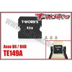 TE149A Masse centrale avant 9,5gr pour B6 / B6D