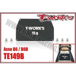 TE149B Masse centrale 15gr pour B6 / B6D