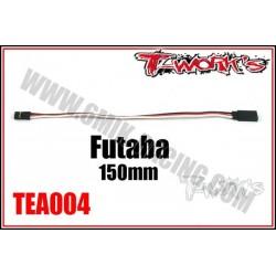 TEA004 Rallonge de servo type Futaba - 150 mm