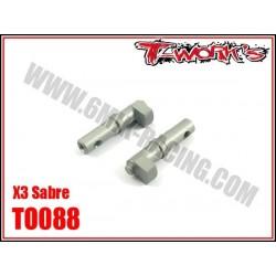 TO088 Câmes de frein en ergal pour X3 (2)