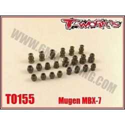 TO155 Boules en ergal pour MBX-7 (le kit de 22 pcs)