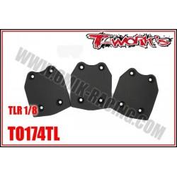 TO174TL Sabot de protection de chassis pour Losi (3 pcs)
