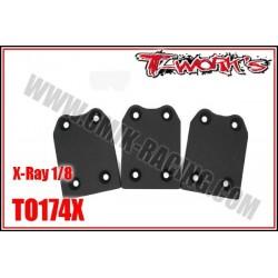 TO174X Sabot de protection de chassis pour X-Ray (3 pcs)