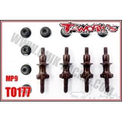 TO177 Entretoises de support d'amortisseur acier pour MP9 (4)