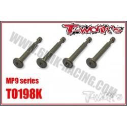TO198K Pin de fixation d'amortos ergal pour MP9